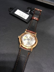 ELITE LADY MOONPHASE 36 MM 裏側